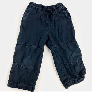Old navy toddler lined pants